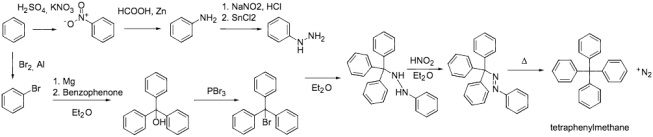 tetraphenylmethane-plan